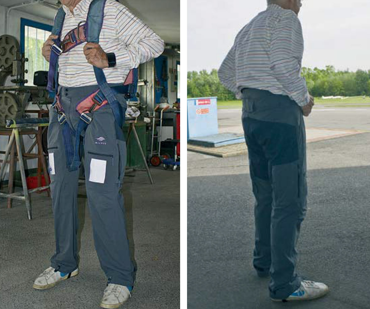 MILVUS - BRAVO Pantaloni per Il volo a vela