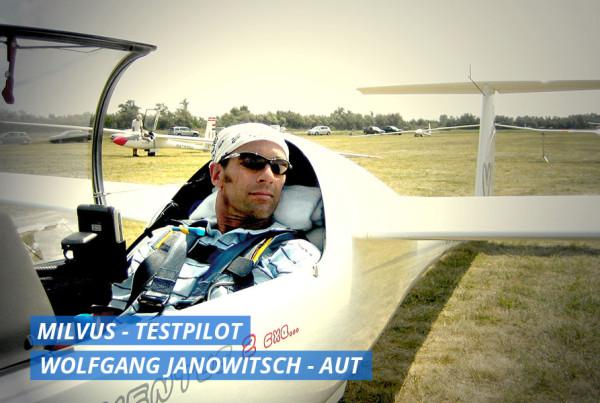 Wolfgang Janowitsch Segelfliegen