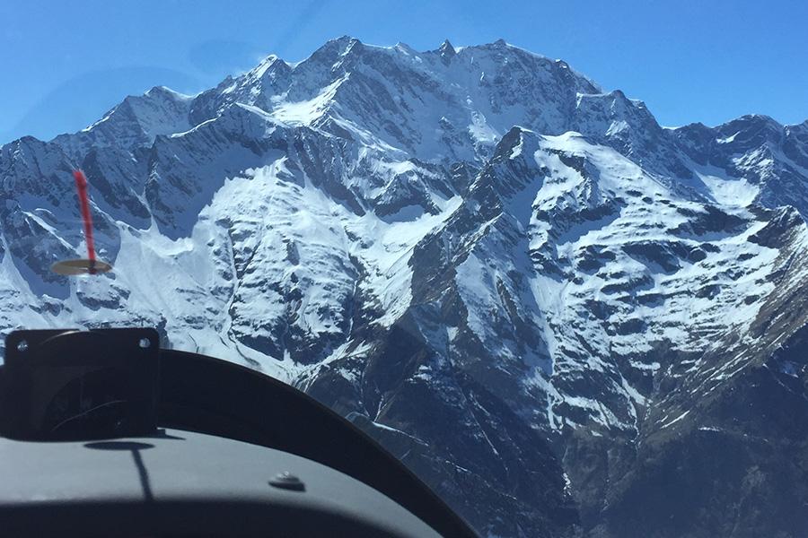 streckenflug-alpen