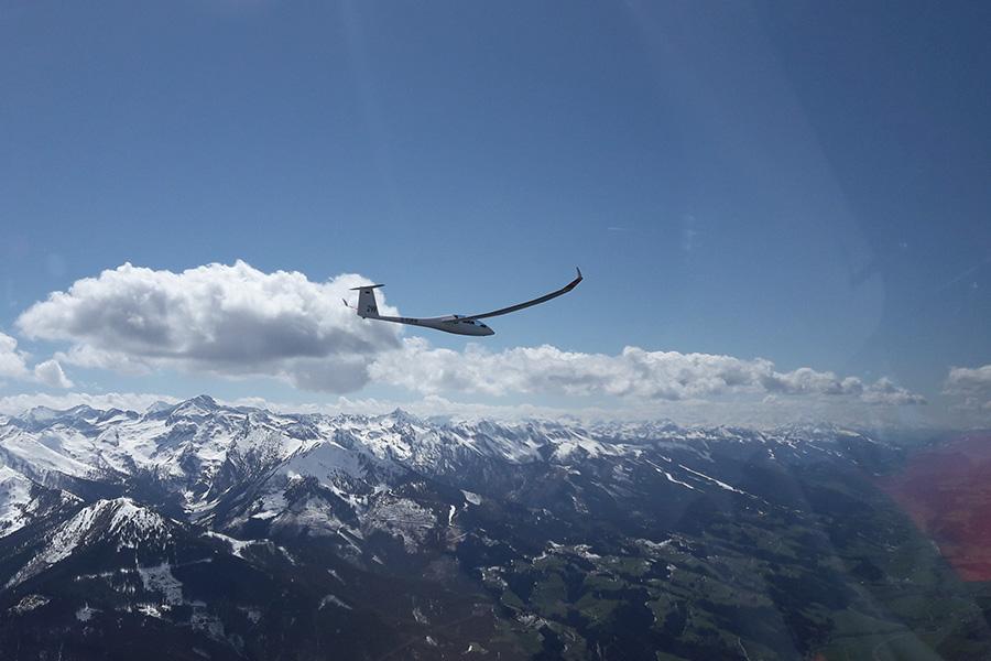 Perfekte Verhältnisse für weitreichende Streckenflüge.
