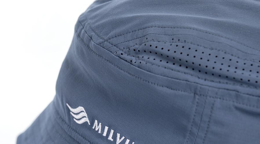 MILVUS thermikhut segelfliegerhut foxtrott lüftungslöcher